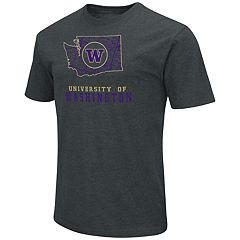 Men's Washington Huskies State Tee