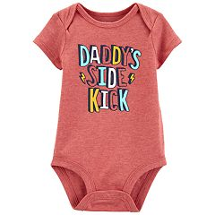 Baby Carter's 'Daddy's Side Kick' Bodysuit