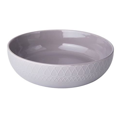 Gourmet Basics by Mikasa Harper Gray Vegetable Bowl