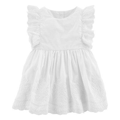 Baby Girl OshKosh B'gosh® Eyelet Ruffle Dress