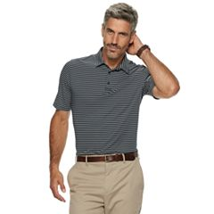 Men's Croft & Barrow® Feeder-Striped Polyester Polo