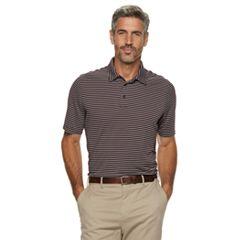 Men's Croft & Barrow® Feeder-Striped Polyester Polo
