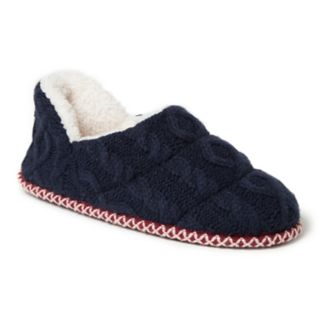 Women's Dearfoams Quilted Cable Knit Shootie Slippers