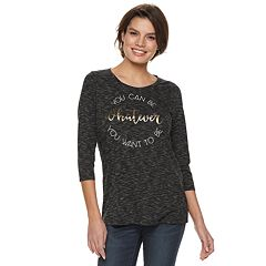 Women's Apt. 9® Graphic Crewneck Tee