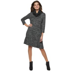 Women's Apt. 9® Ribbed Scarf Shift Dress