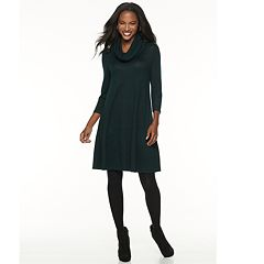 Women's Apt. 9® Ribbed Scarf Shift Dress