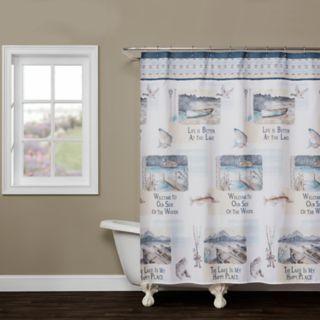 Saturday Knight, Ltd. Bass Lake Shower Curtain