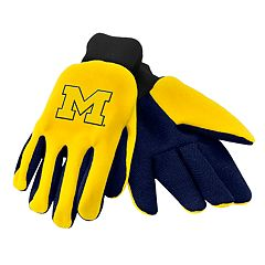 NCAA Michigan Wolverines Team Logo Utility Gloves