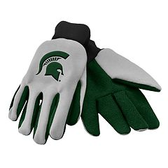 NCAA Michigan State Spartans Team Logo Utility Gloves