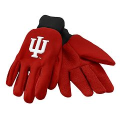 NCAA Indiana Hoosiers Team Logo Utility Gloves