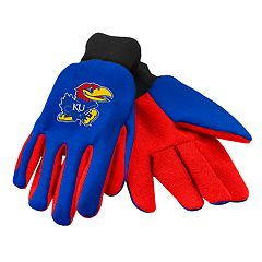 NCAA Kansas Jayhawks Team Logo Utility Gloves