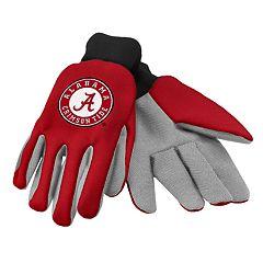 NCAA Alabama Crimson Tide Team Logo Utility Gloves
