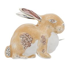 Pet Friends Rabbit Pin