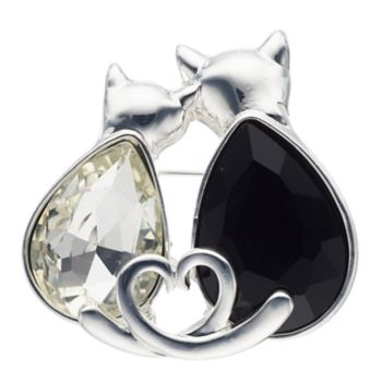 Pet Friends Double Cat Pin