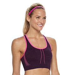 Women's Tek Gear® Seamless Contrast Trim Low-Impact Sports Bra