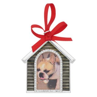 Pet Friends Holiday Dog House Photo Frame Pin