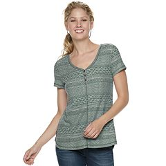 Women's SONOMA Goods for Life™ Henley Tee