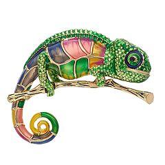Pet Friends Chameleon Pin