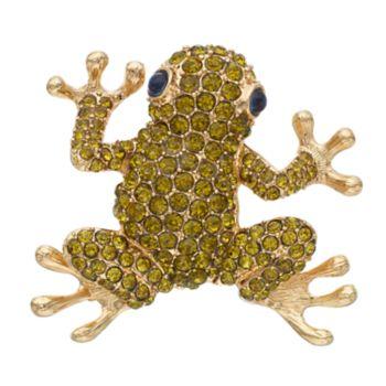 Pet Friends Green Frog Pin