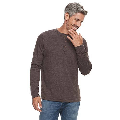 0819d89ed5 Men s Croft   Barrow® Classic-Fit Easy-Care Henley
