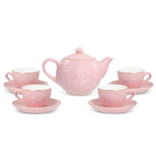 FAO Schwarz Ceramic Toy Tea Set