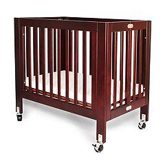 LA Baby Helena Rolling Portable / Mini Euro Crib