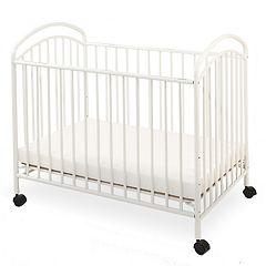 LA Baby Classic Rolling Portable / Mini Crib