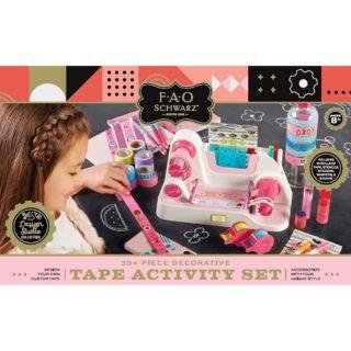 FAO Schwarz Decorative Tape Activity Set