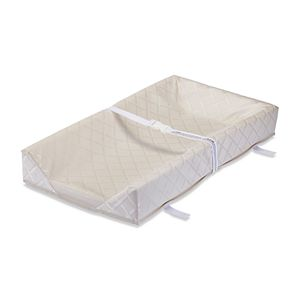 LA Baby Jacquard 3-Sided Changing Pad