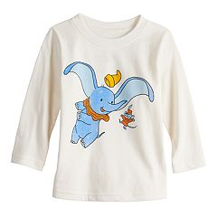 Disney's Dumbo Baby Boy Dumbo & Timothy Q. Mouse Softest Graphic Tee by Jumping Beans®