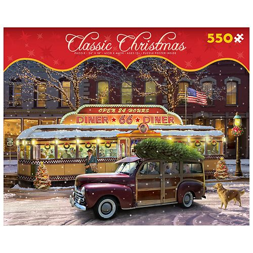 Ceaco Classic Christmas 550-piece Puzzle