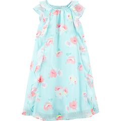 Toddler Girl OshKosh B'gosh® Floral Chiffon Dress