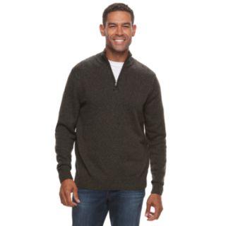 Men's Croft & Barrow® Quarter-Zip Sweater