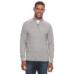 Men's Croft & Barrow® Quarter-Zip Sweater