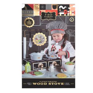 FAO Schwarz Tabletop Wood Stove