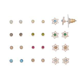 LC Lauren Conrad Star & Stud Earring Set