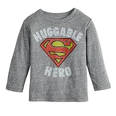Baby Boy Jumping Beans® Marvel Super-Man 'Huggable Hero' Logo Graphic Tee