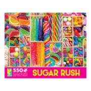 Ceaco Sugar Rush Candy 550-piece Puzzle