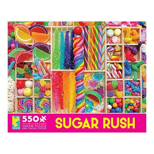 Ceaco Sugar Rush Candy 550-piece Puzzle