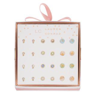 LC Lauren Conrad Stud Earring Set
