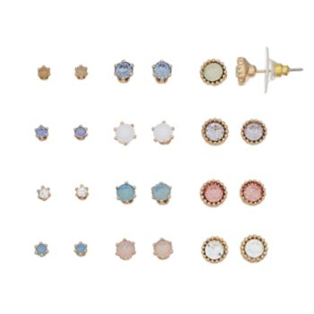 LC Lauren Conrad Stud Earring Set