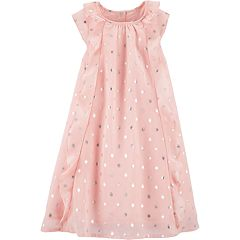 Toddler Girl OshKosh B'gosh® Foiled Dot Chiffon Dress