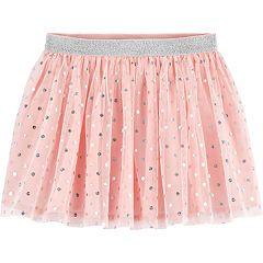 Toddler Girl OshKosh B'gosh® Glitter Dot Tulle Skirt