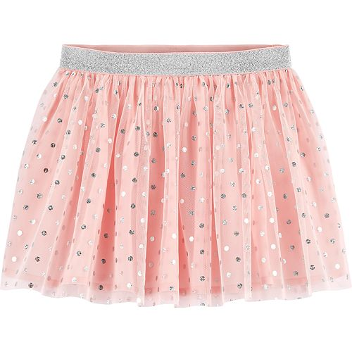 Toddler Girl OshKosh B'gosh® Glitter Dot Tulle Skirt