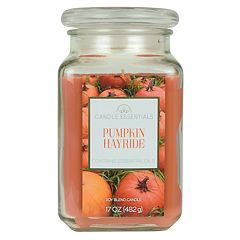 Candle Essentials Pumpkin Hayride 17-oz. Candle Jar