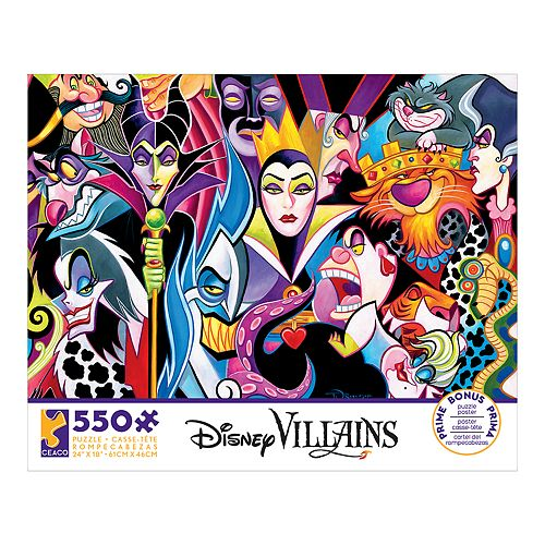 Disney's Villains 550-piece Puzzle by Ceaco