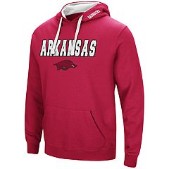 Men's Arkansas Razorbacks Pullover Fleece Hoodie