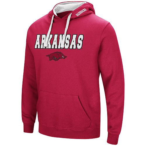 Men's Arkansas Razorbacks Pullover Fleece Hoodie