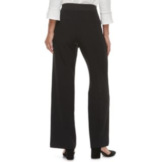 Women's ELLE? Wide-Leg Twill Pants