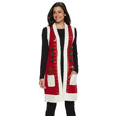 Women's Holiday Vest
